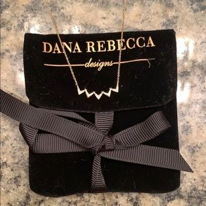 Dana Rebecca pave Diamond Necklace